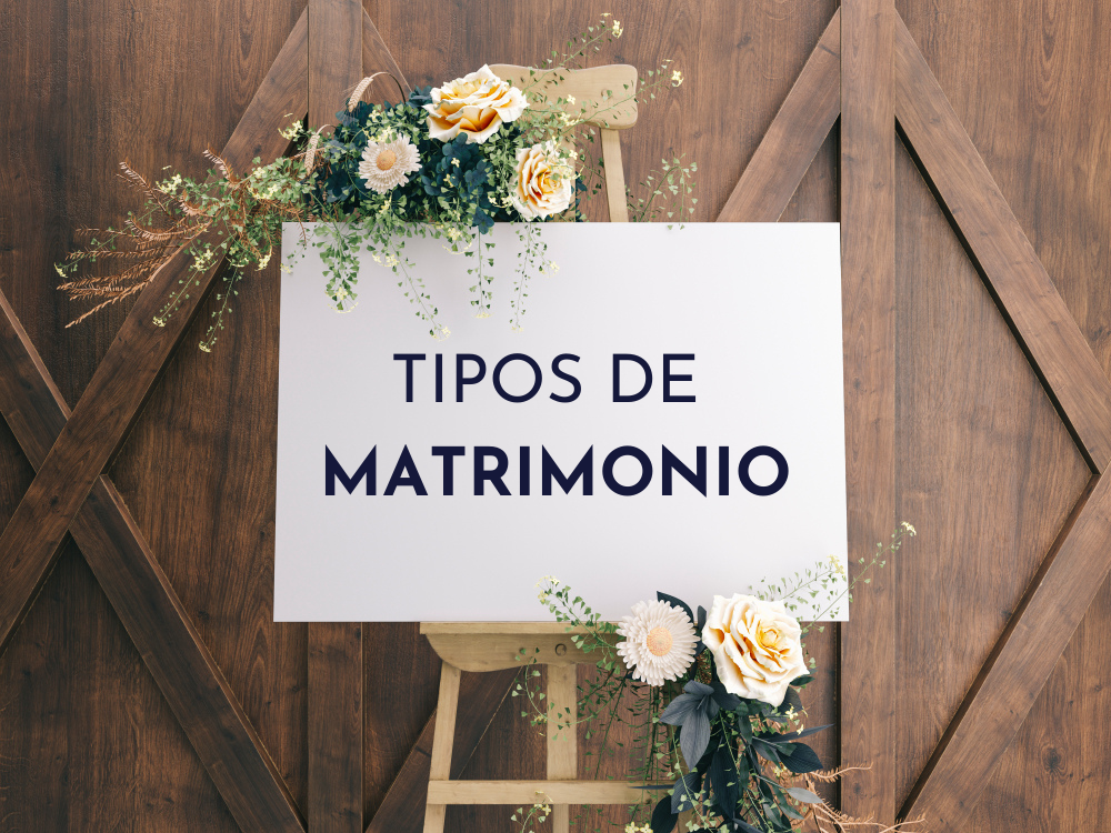 Los tipos de matrimonio varían en función de la religión, la ley, el consentimiento o el número de cónyuges