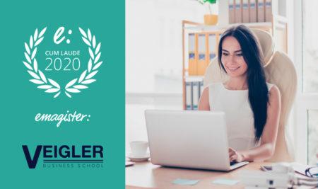 Veigler Business School, galardonada con el Sello Cum Laude 2020