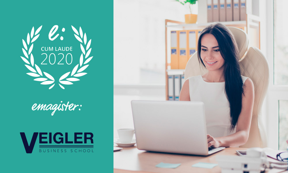 Veigler Business School recibe el Sello Cum Laude 2020