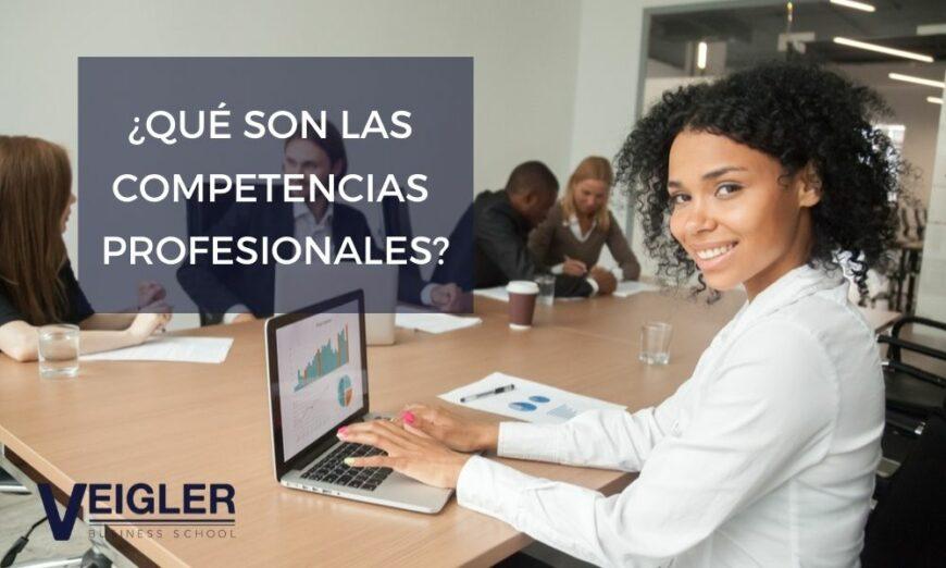 Las competencias profesionales se pueden desarrollar con tiempo y esfuerzo