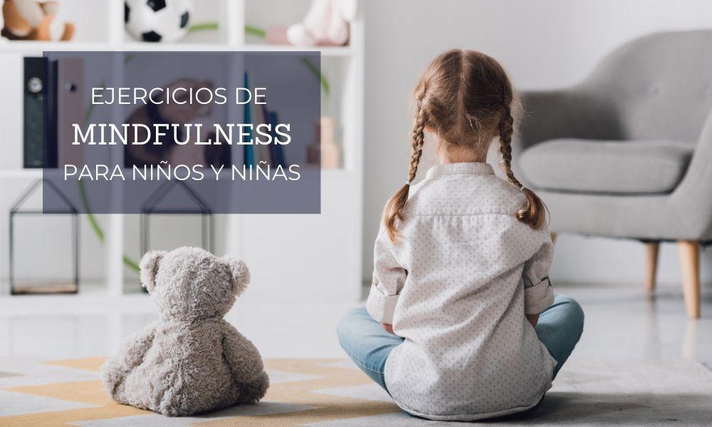 Cinco ejercicios de mindfulness para niños y niñas