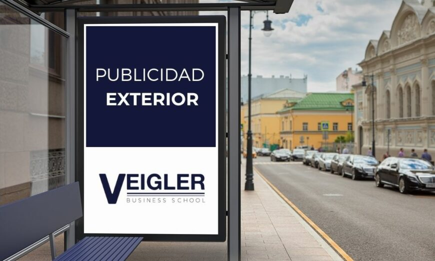 La publicidad exterior se encuentra en espacios públicos
