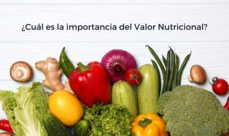 La importancia del valor nutricional de los alimentos