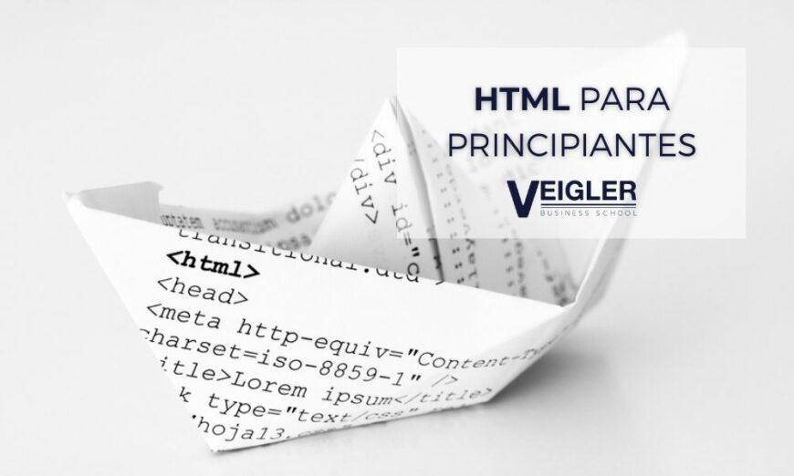 ¿Qué es HTML?